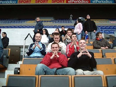 Barca Tour 2005....honestly Crooksy, none of us are taking the piss behind you