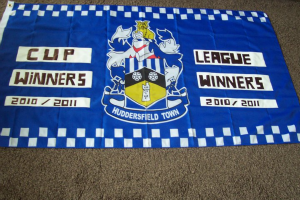 Double winning flag