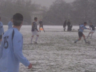 Game Vs Core Athletic 07/08 Season in the snow