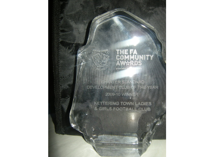 Charter Standard Development Club Award 2010