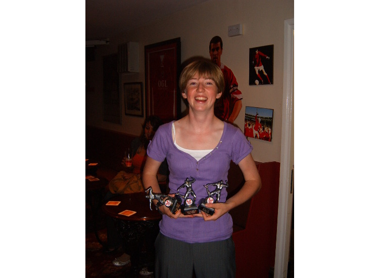 emma askns - most ipmroved player & fans player of the year