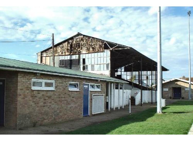 Changing rooms and main stand