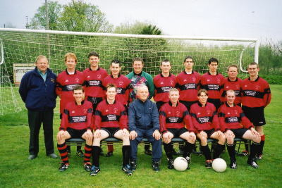 Llanboidy 1st XI 2001/2002 