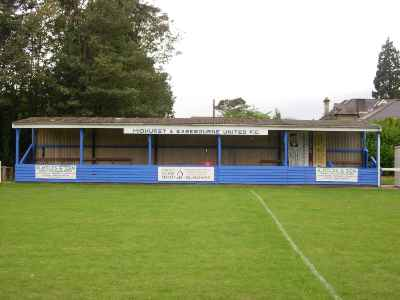 THE MAIN STAND AT THE ROTHERFIELD