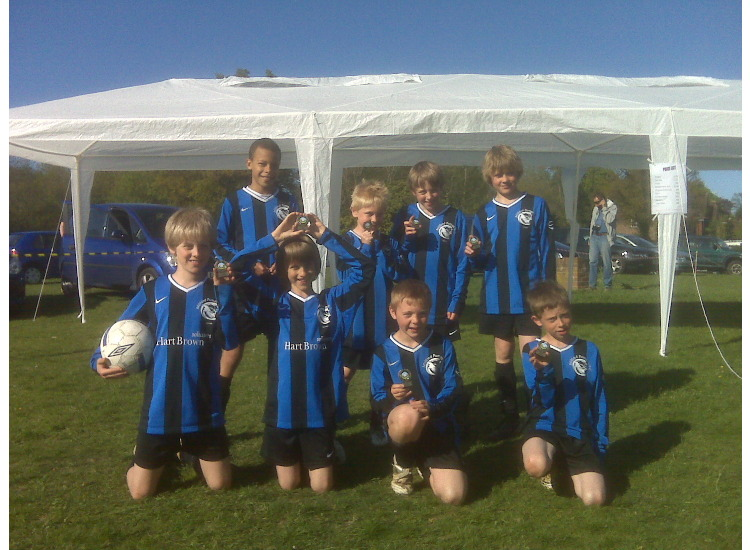 U11's SPL 7-A-SIDE LEAGUE WINNERS