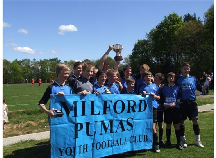 U14's SPL INTERMEDIATE CUP WINNERS