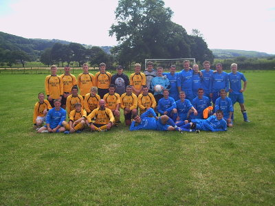 Pre-season tour 2007 to Borth - hosted by Talybont Tigers.Proof that you don't have to be a beautiful man to play the beautiful game!!