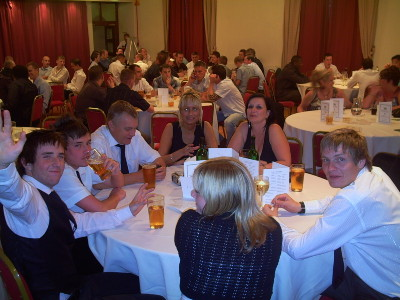 League Awards do at Kings Hotel Newport