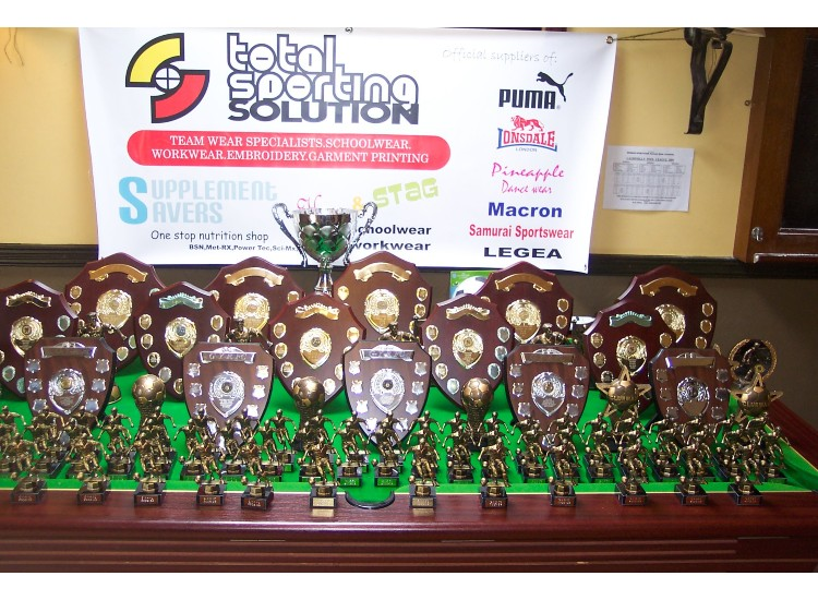 Our Awards - supplied by Total Sporting Solutions