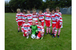 Team pic after the Marton Friendly 31.7.11.