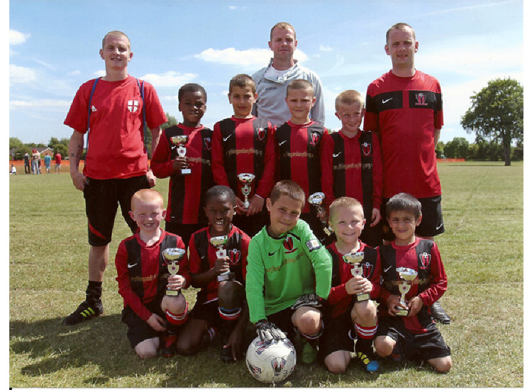 Runners up @ Flixton AFC Tournament