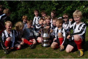 April 2011 - boys with FA Cup