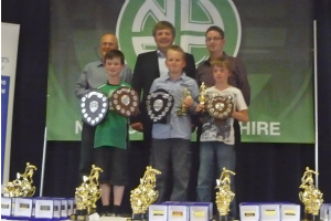 Trophy winners with Jan Molby