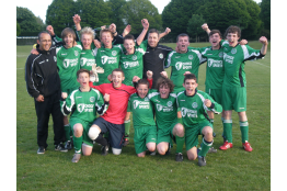 Helsby FC U15s: Chester & District JFL Champions 2010-11