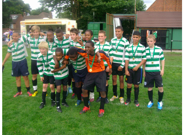 Parkfield U14's win Sutton Tournament