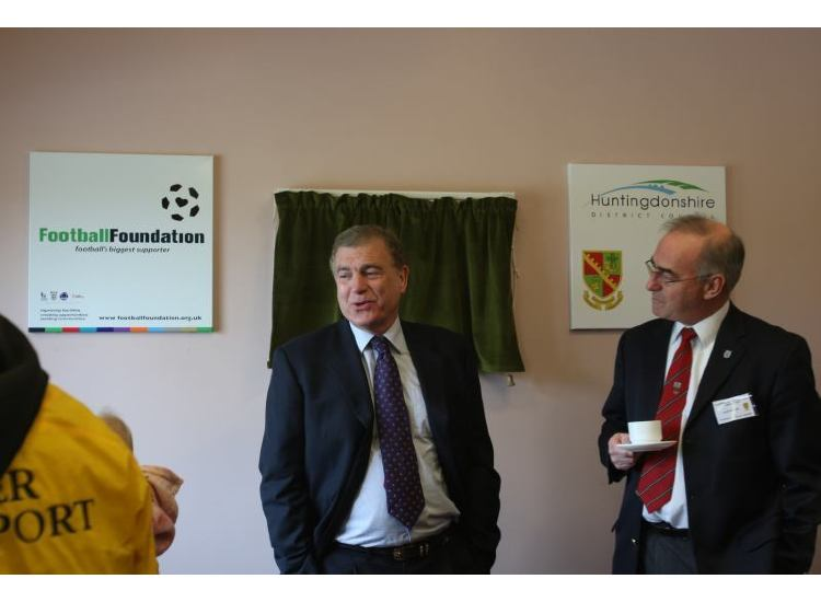 Sir Trevor Brooking at Priory Pavilion