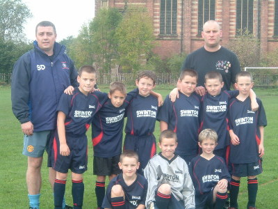 STEVE &amp; JON WITH PENDLEBURYS FIRST EVER TEAM