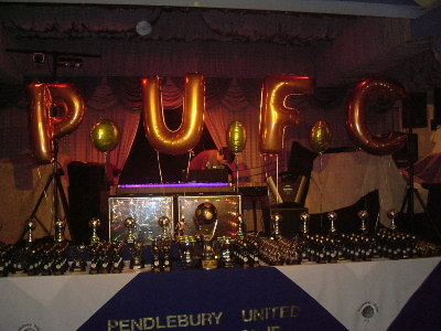 A VIEW OF THE TOP TABLE AT THIS YEARS PRESENTATION