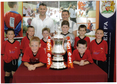 UNDER 10&#039;S WITH THE FA CUP
