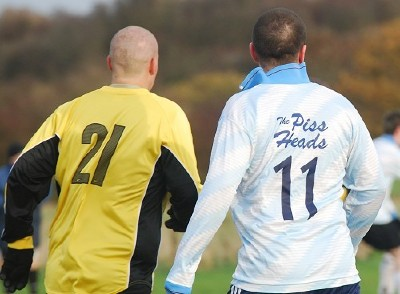 Baldies v Pissheads