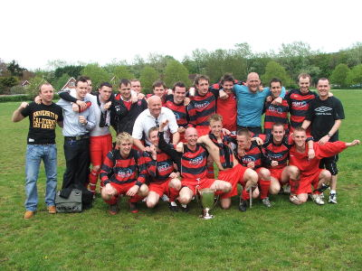 Premier Division Champions2007/08LEFT CLICK TO ENLARGE