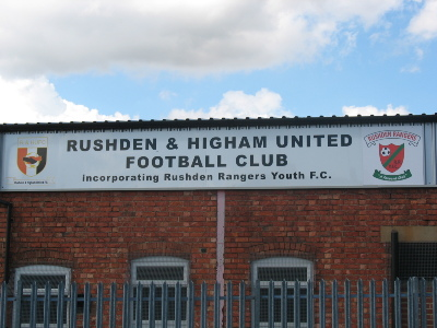 Hayden Road HOME of Rushden &amp; Higham United 08/08/08