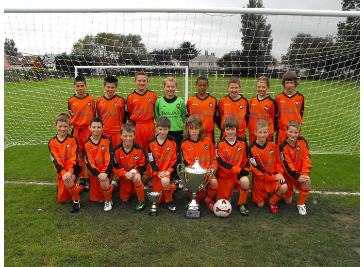 U12's First Season at 11-a-side 2008/9