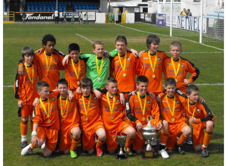U13's League Cup Winners