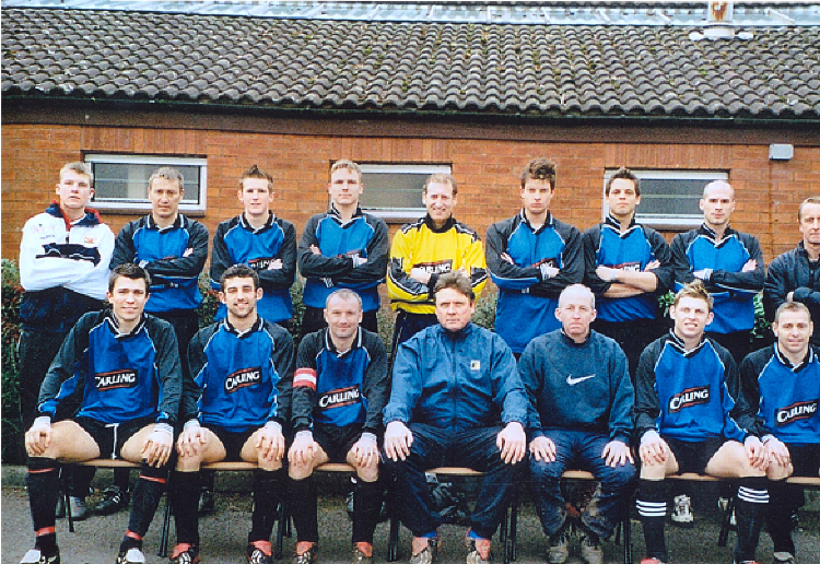 2004/05 Season Gwent County Division Three Winners