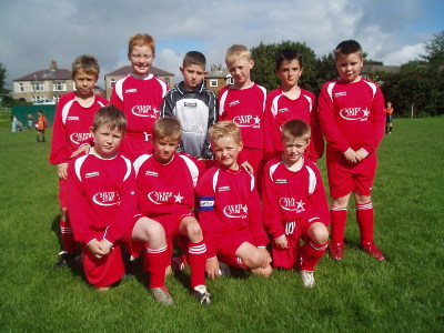 New strip for under 10`s RED thanks to the new sponsors SILVERSTAR Aviation