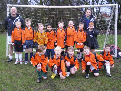 New U8s team get ready for the league