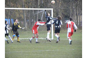 When you play Poole Town it's never a foul!