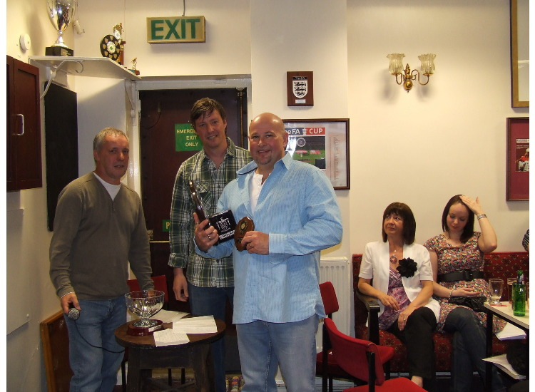 Dean Walker was named Supporters Club Person of the Year and Players' Person of the year.