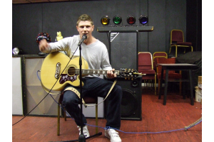 Performing Artist on the night - Jamie Harwood