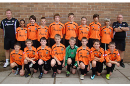 2010/11 U13s MJPL Runners Up