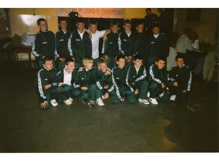 Millenium League and cup winners 2000