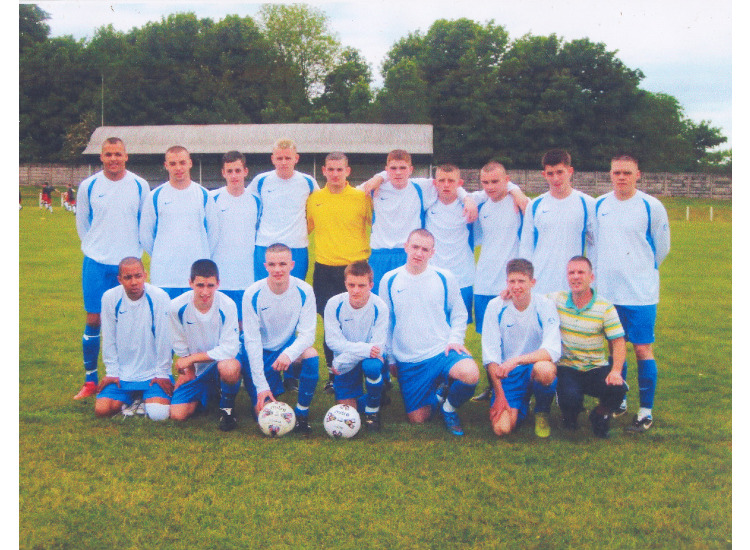 James and the players of last seasons victorious Under 19's