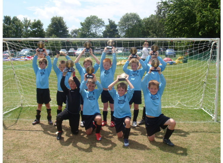 Under 9 Winners of the 2009 Ashford Borough Tournament