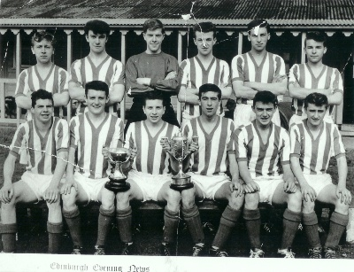 Lord Weir (Scottish U17) Cup winners 1961.