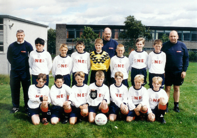 St Bernards 12's in 1998 - Winners of the Edinburgh Plate.