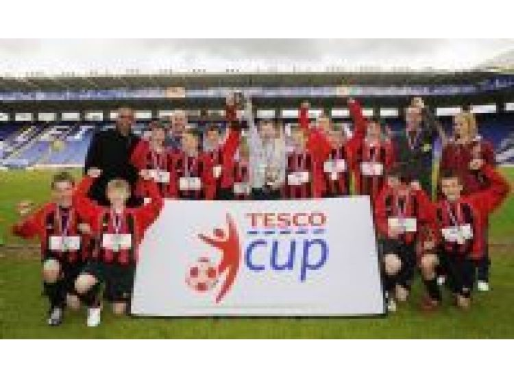 U13'S TESCO CUP UK CHAMPIONS