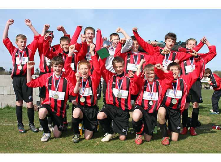 U13'S TESCO CUP WINNERS