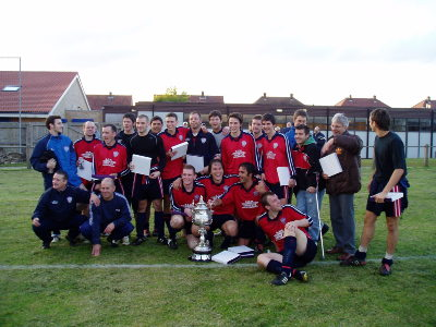 Monkwearmouth Cup Winners 2005/06