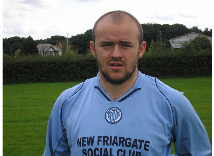 Ray Horsfield Player 2007/2008,First game Deepdale Dynomo 23/9/07,First goal Penwortham Hill Rovers 14/10/07.Played 14 Games 3Goals