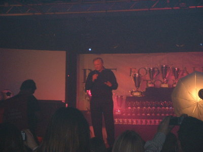 ANOTHER OF BIG RON GIVING HIS SPEECH.