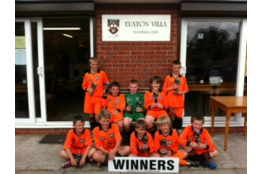 Euxton Villa Tournament Winners 10/11
