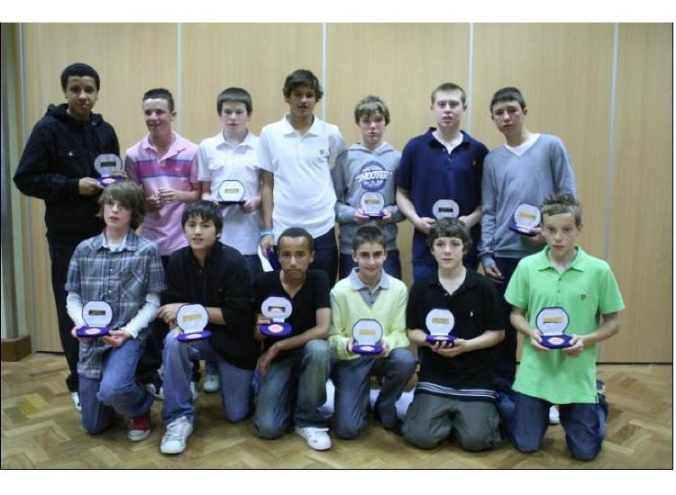 U14's  - 2008-2009 Chingford Assembly Hall. Photo supplied by DE Photos