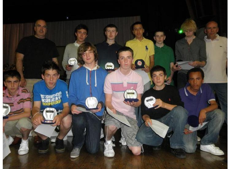 U15's - 2009-2010 Season Awards