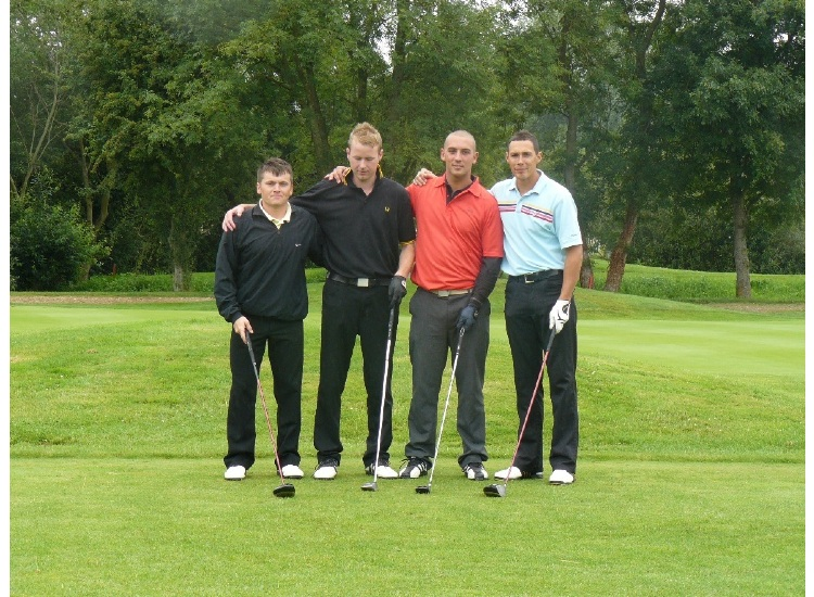 2008 - Darren Kersley , Kev Bloomfield , Paul Nicholls , Mike Vansittart