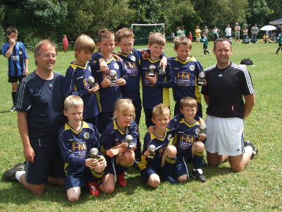 Welland Valley Team go unbeaten at Willen Tournament... July 2008